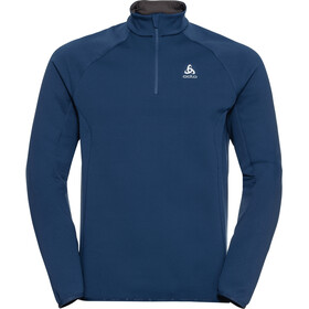 Odlo Carve Ceramiwarm Midlayer met 1/2 rits Heren, estate blue